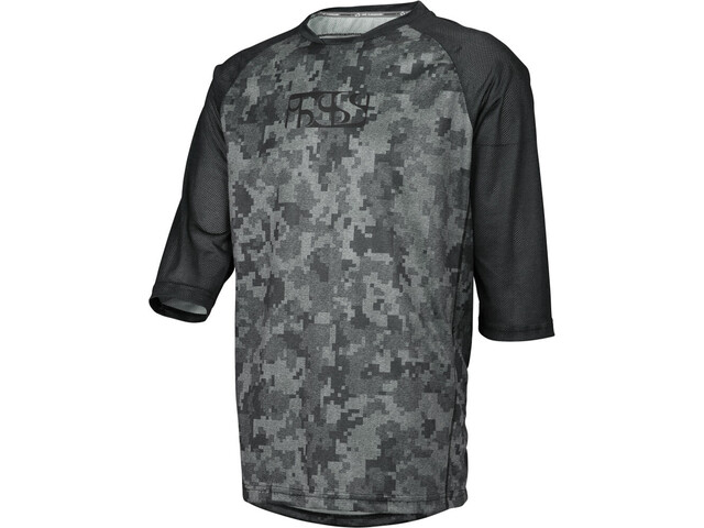 IXS Vibe 8.1 Bike Jersey Shortsleeve Men grey/black